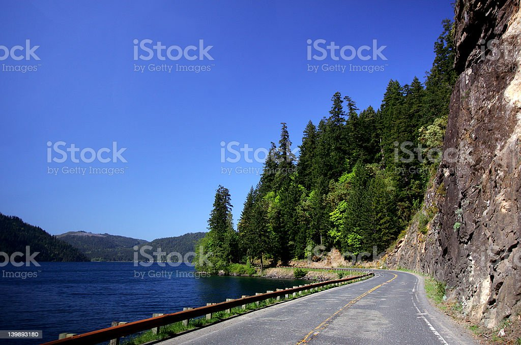 HWY 101 royalty-free stock photo
