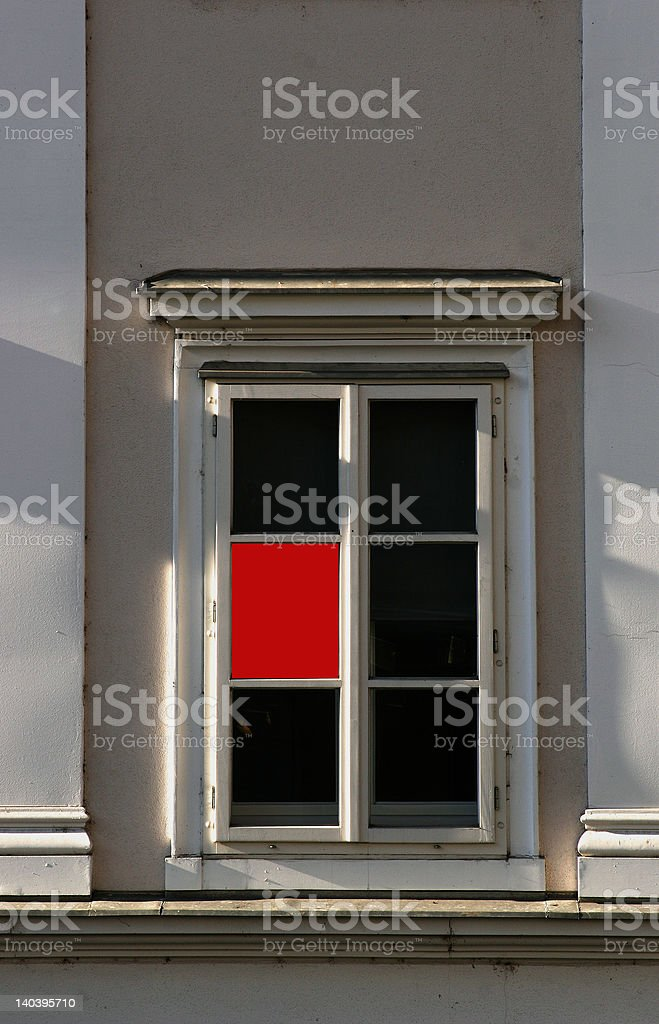 RED SIGHT royalty-free stock photo
