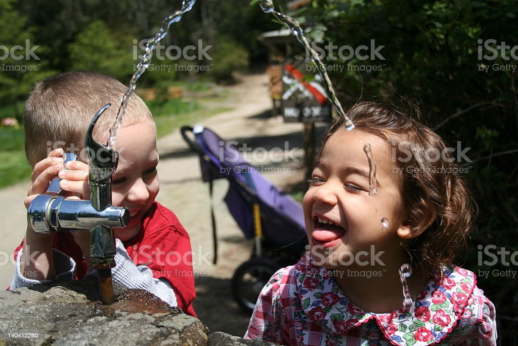 SWEET LAUGHTER stock photo