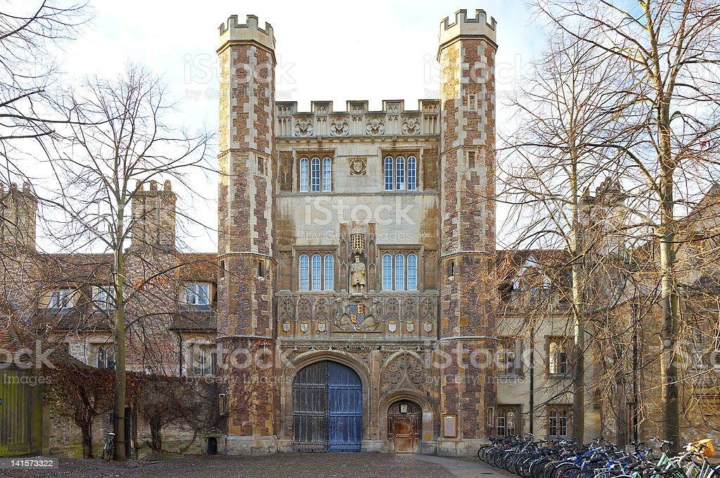 TRINITY COLLEGE, CAMBRIDGE stock photo
