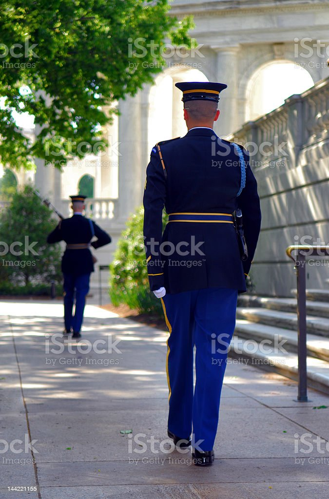 ON GUARD royalty-free stock photo
