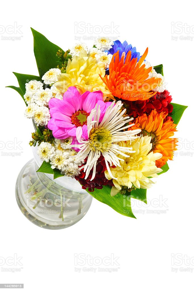 FLOWERS VASE royalty-free stock photo