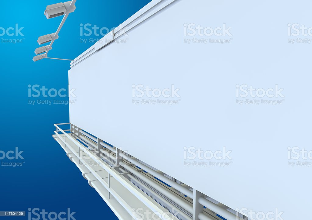 BILLBOARD A2 PAGE SIZE royalty-free stock photo