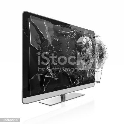 istock 3D TV 153065472