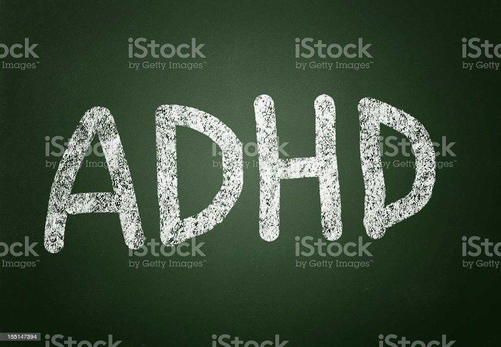 ADHD royalty-free stock photo