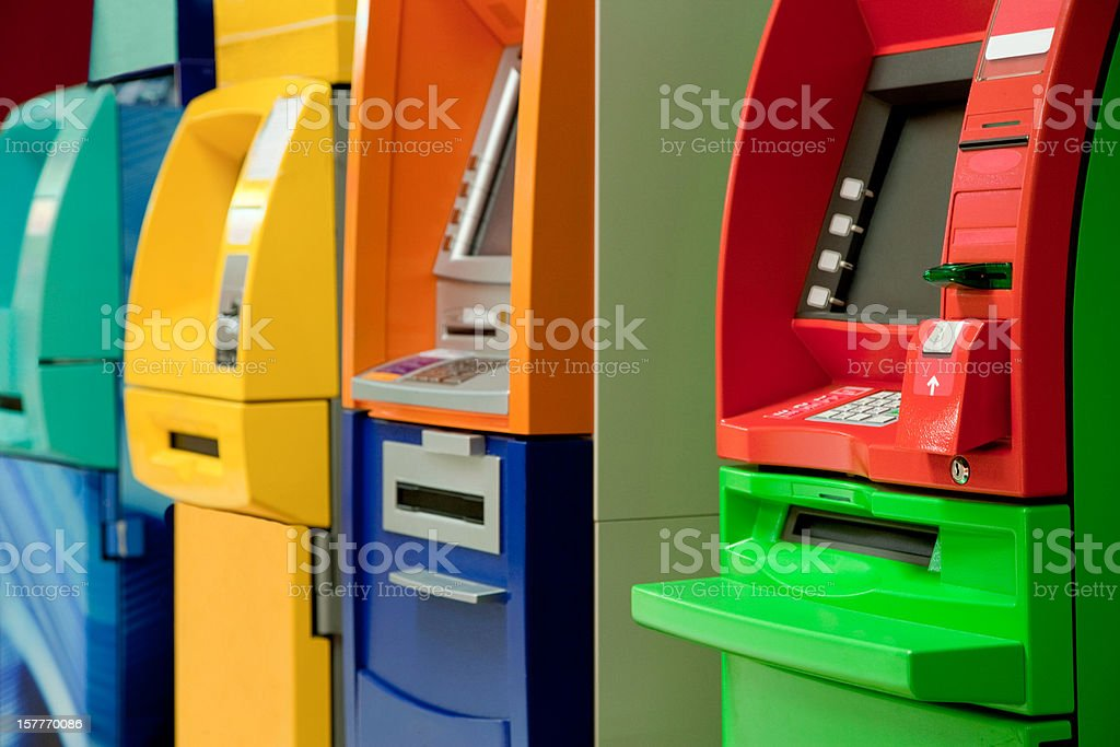 ATM royalty-free stock photo