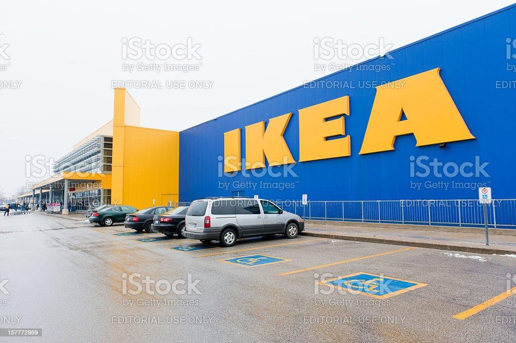 IKEA royalty-free stock photo