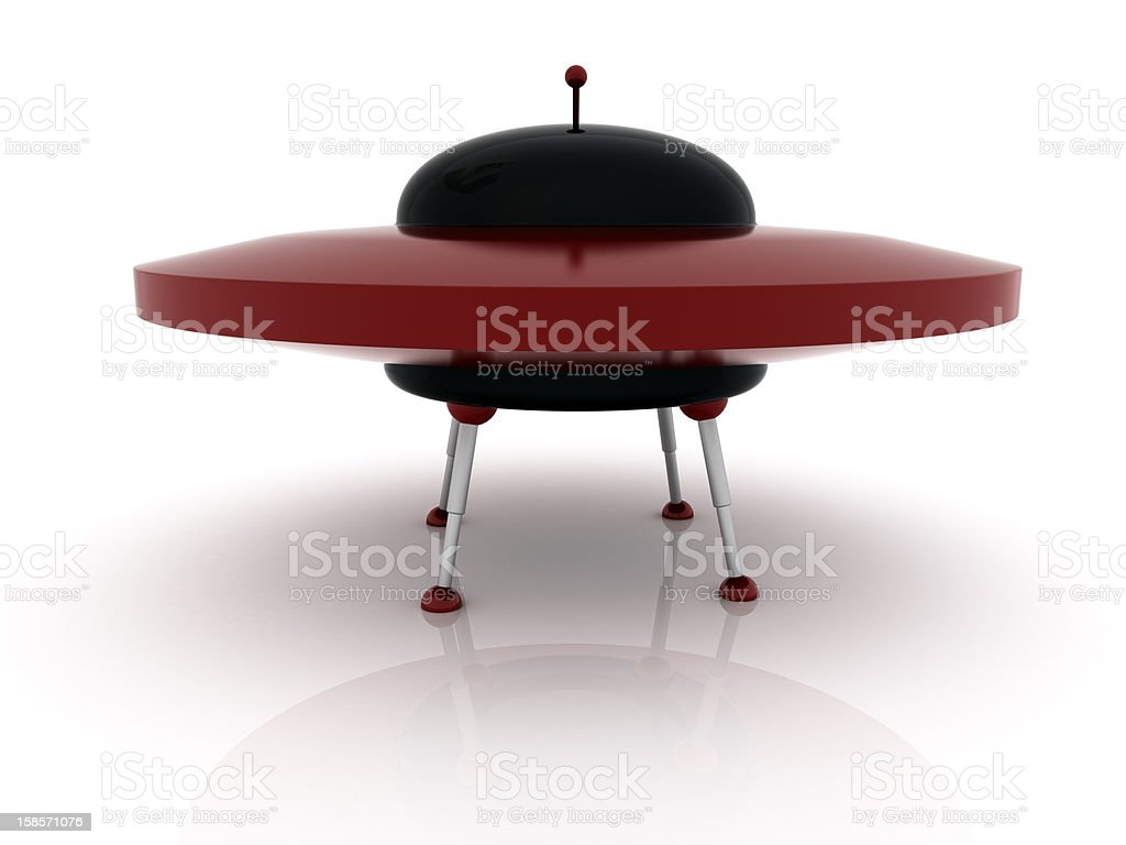 UFO royalty-free stock photo