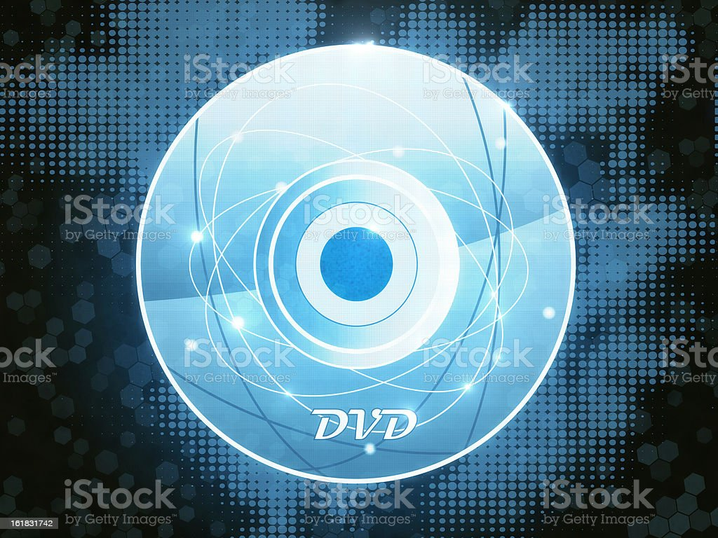 DVD-ROM royalty-free stock photo