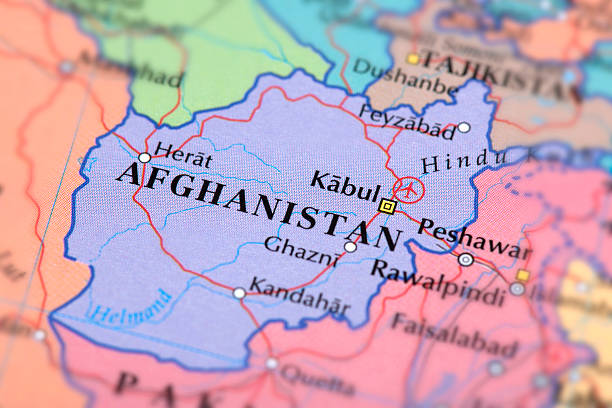 AFGHANISTAN Map of Afghanistan.  Afghanistan stock pictures, royalty-free photos & images