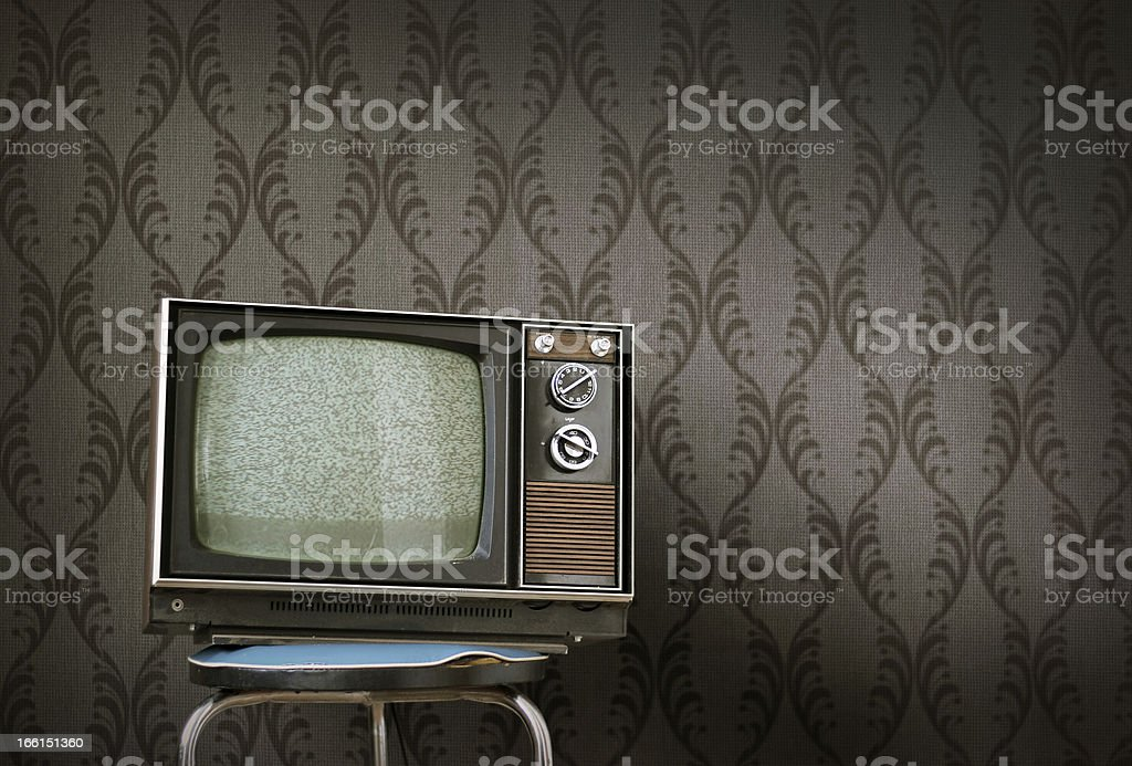 TELEVISON royalty-free stock photo