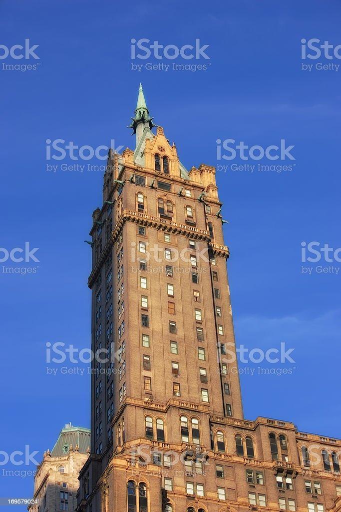 THE CITY OF NEW YORK - MANHATTAN SKYSCRAPERS stock photo
