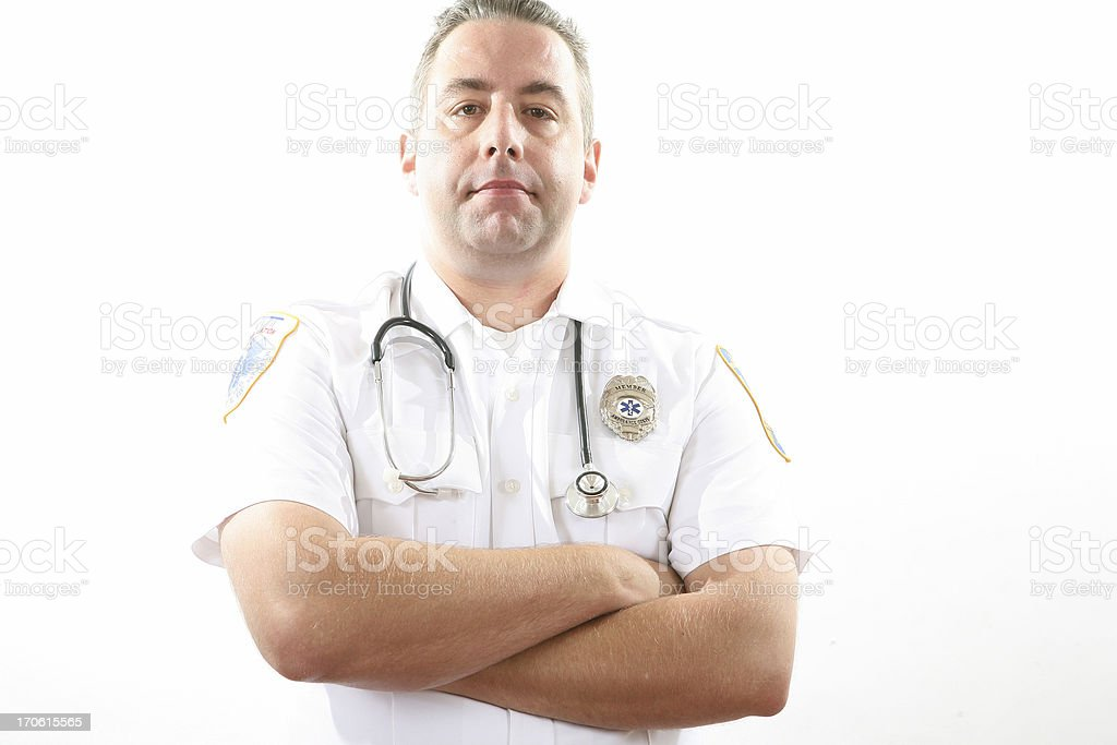 EMT royalty-free stock photo