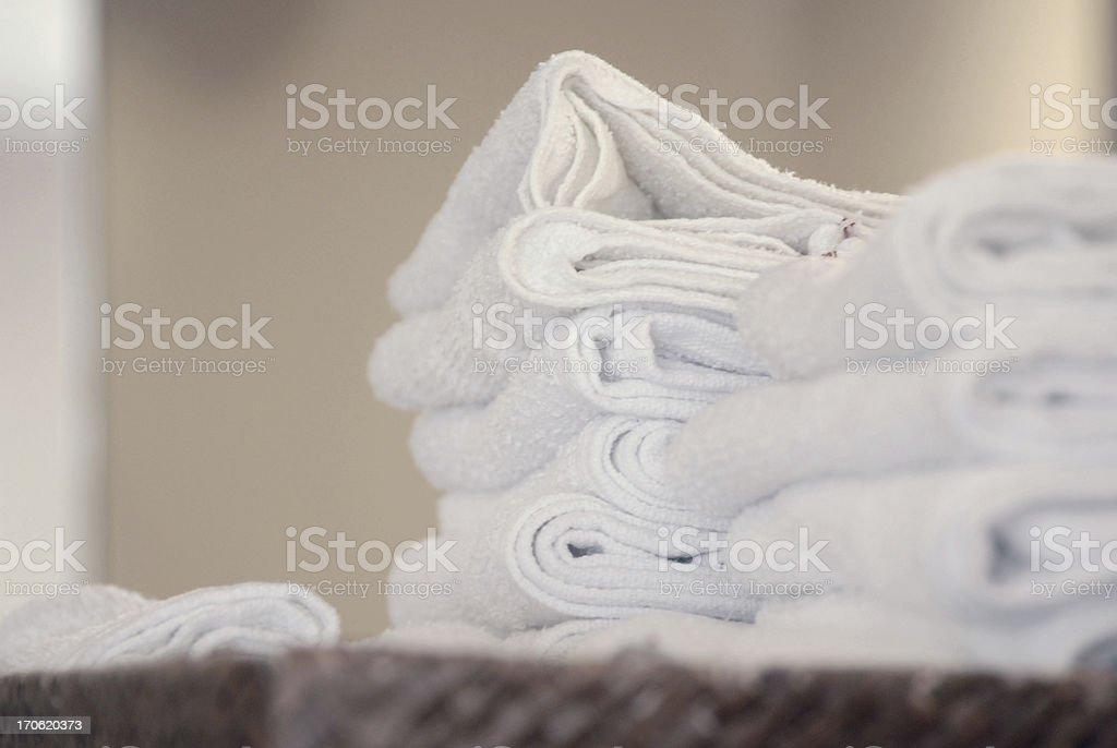 SALON TOWELS royalty-free stock photo