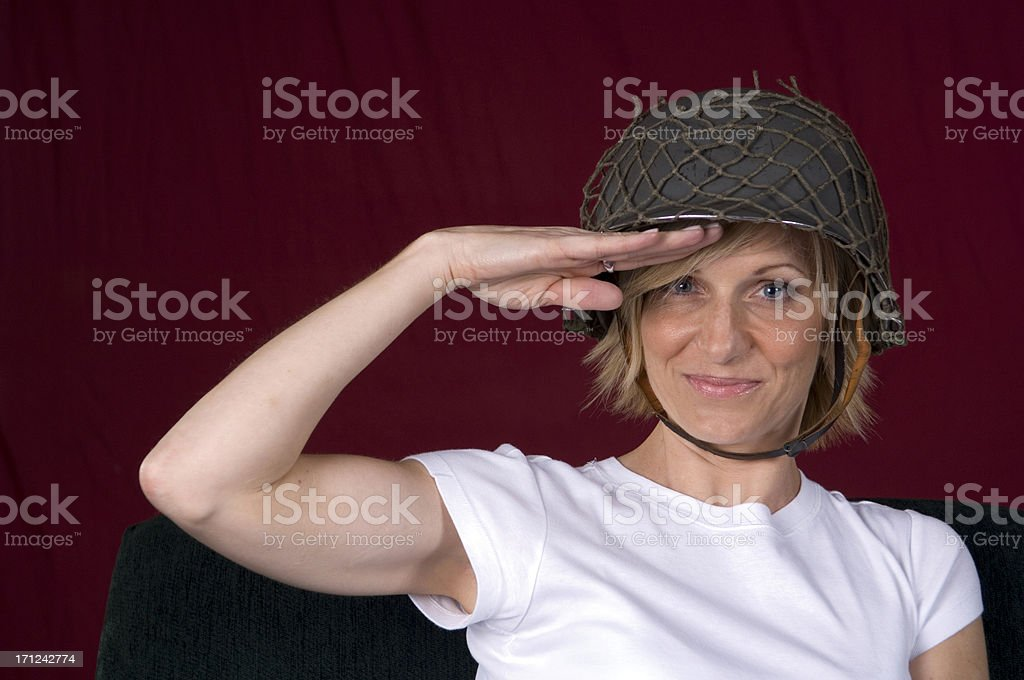 YES SIR! royalty-free stock photo