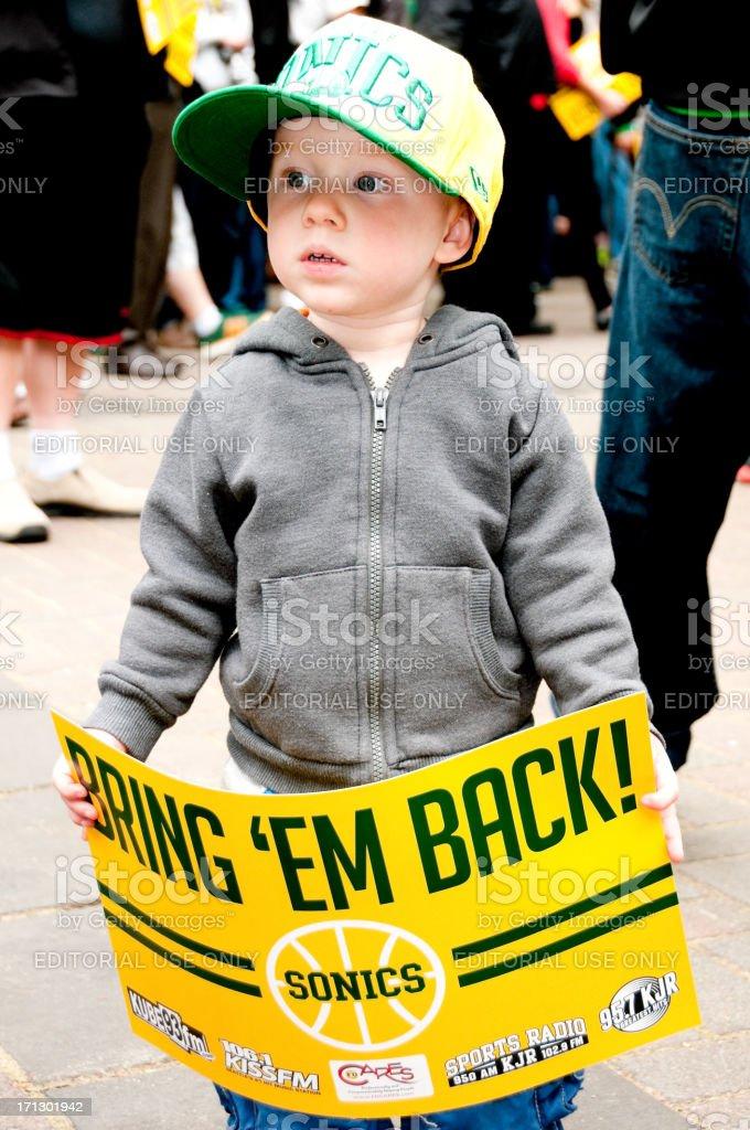 BRING 'EM BACK! royalty-free stock photo