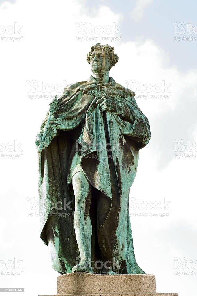 KING GEORGE IV stock photo