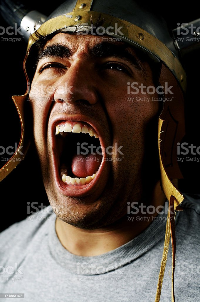 ATTACK! royalty-free stock photo