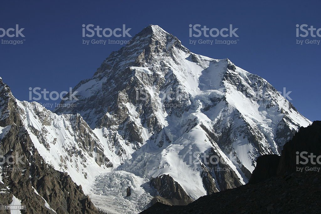 K2 royalty-free stock photo