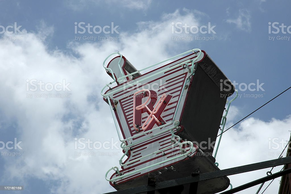RX royalty-free stock photo