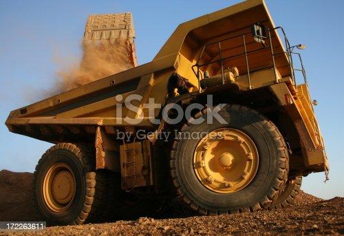 Big Big mining machines in action.