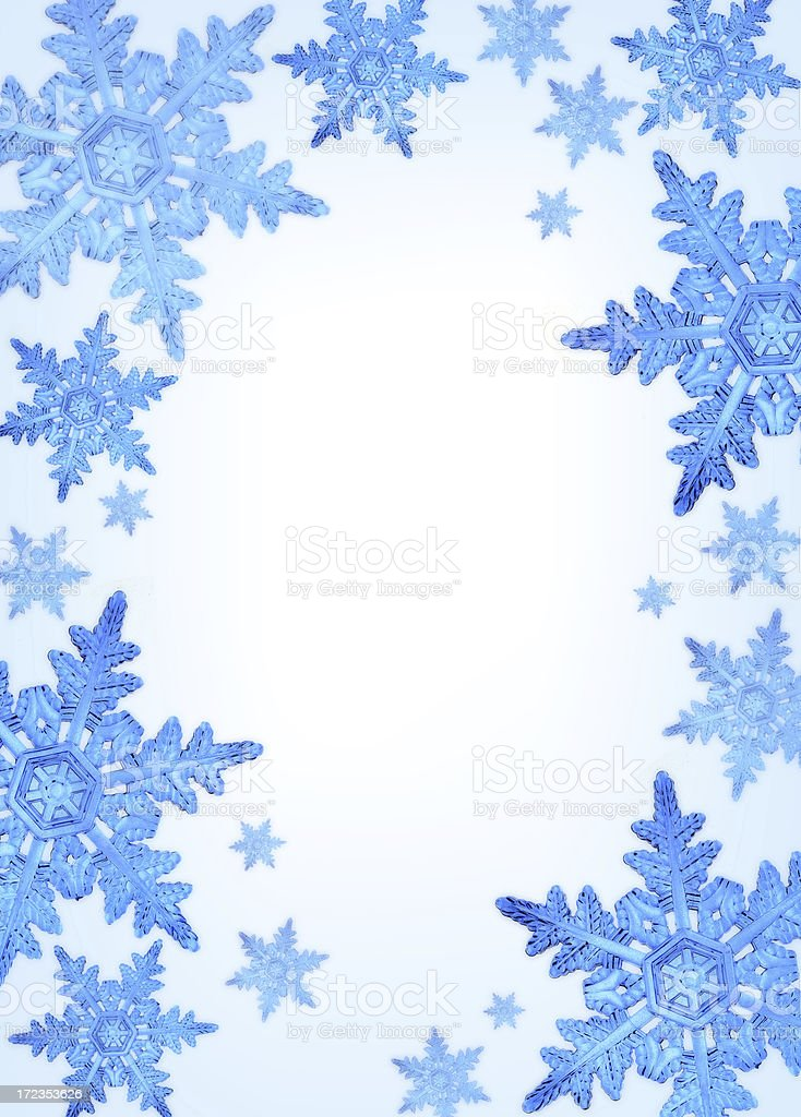 SNOW BLUE royalty-free stock photo