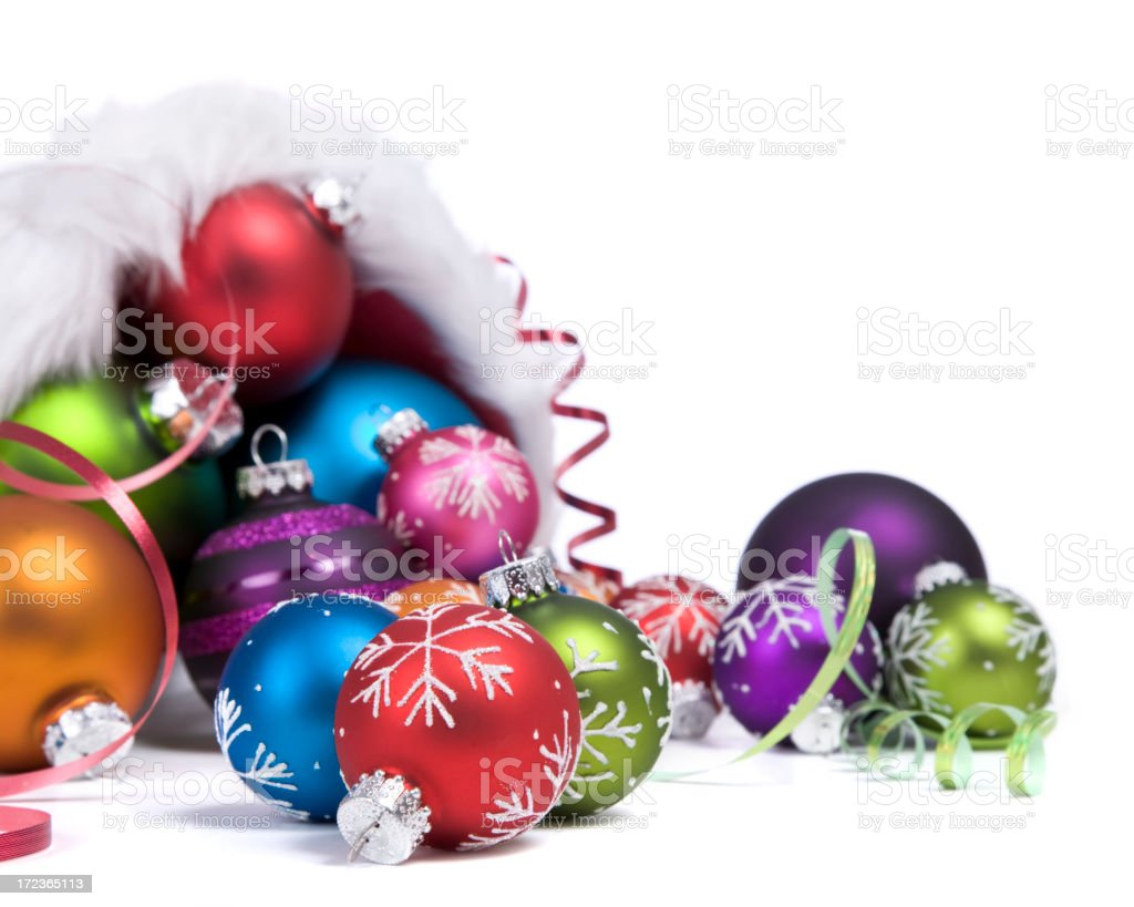 SANTA-COPIA! (The Christmas Cornucopia) royalty-free stock photo