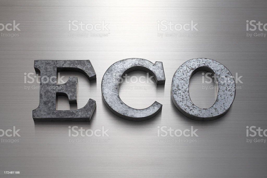 ECO royalty-free stock photo
