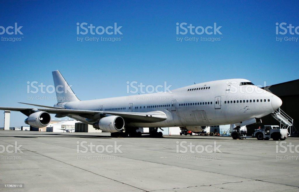 747 stock photo