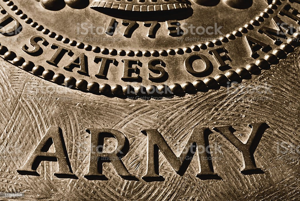 ARMY royalty-free stock photo