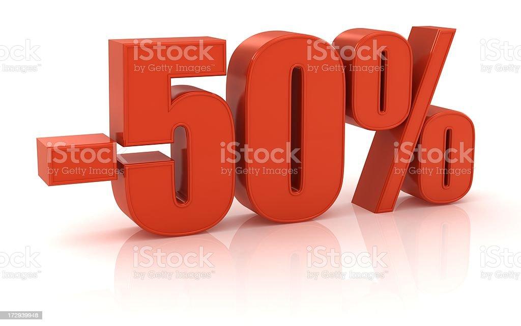 - 50% - foto de acervo
