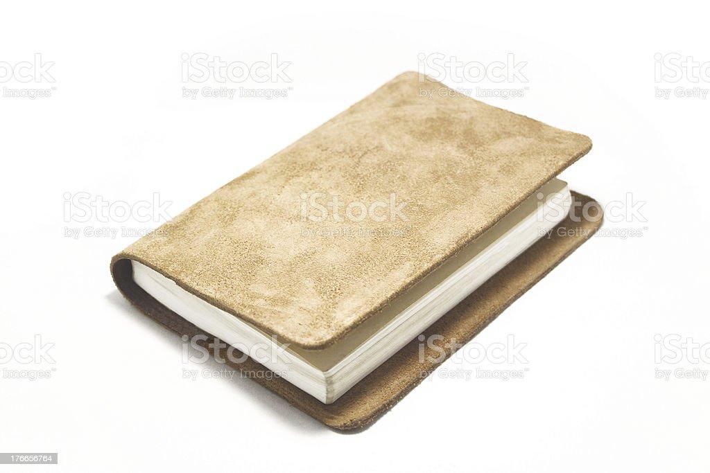 革の手帳 royalty-free stock photo