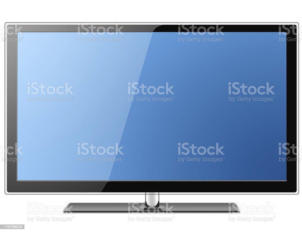LCD TV royalty-free stock photo