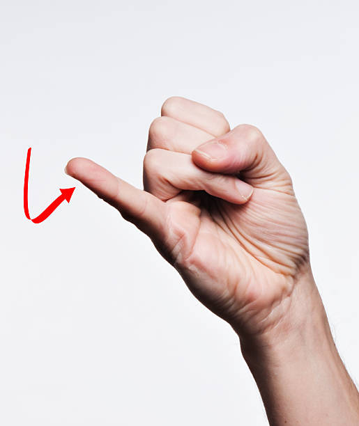 hand sign language letter j pictures images and stock photos