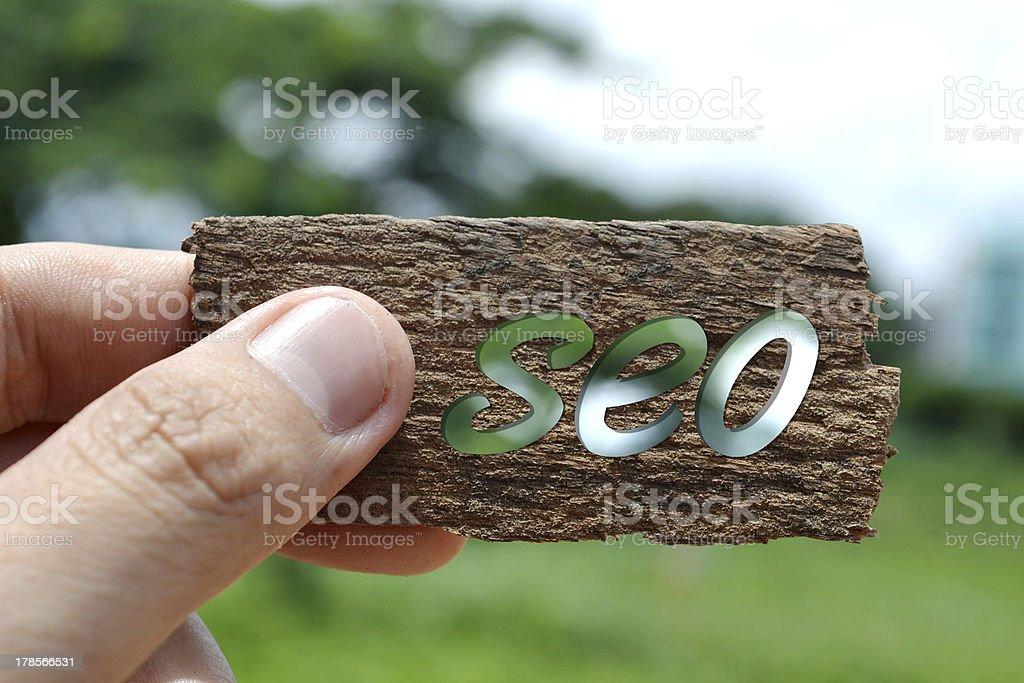 SEO royalty-free stock photo