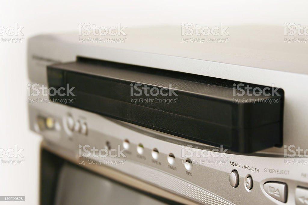 VCR royalty-free stock photo