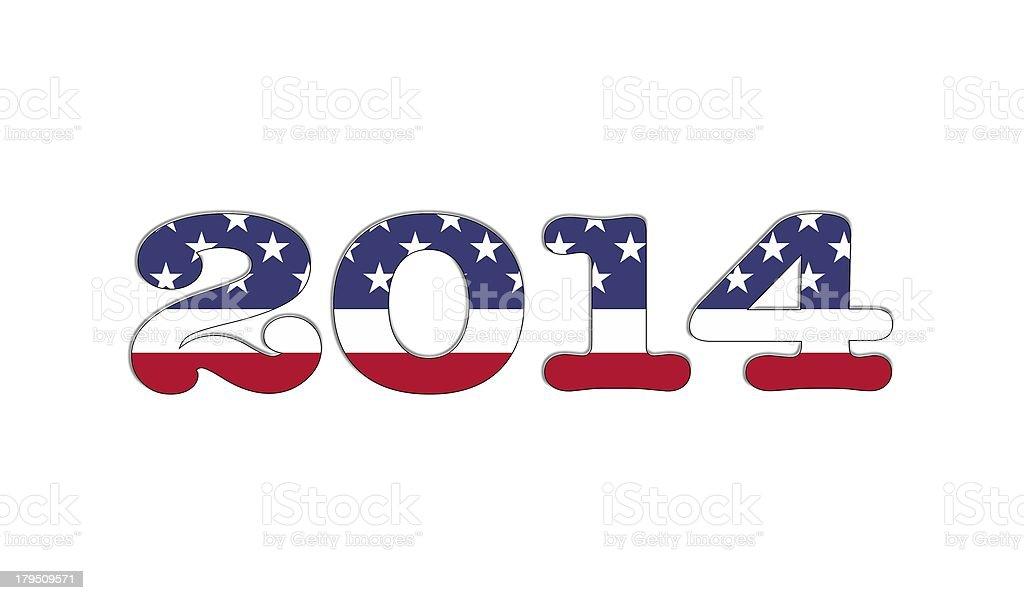 2014 USA. royalty-free stock photo