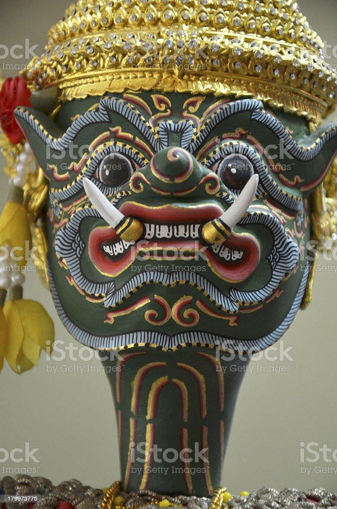 THAI PUPPETS royalty-free stock photo