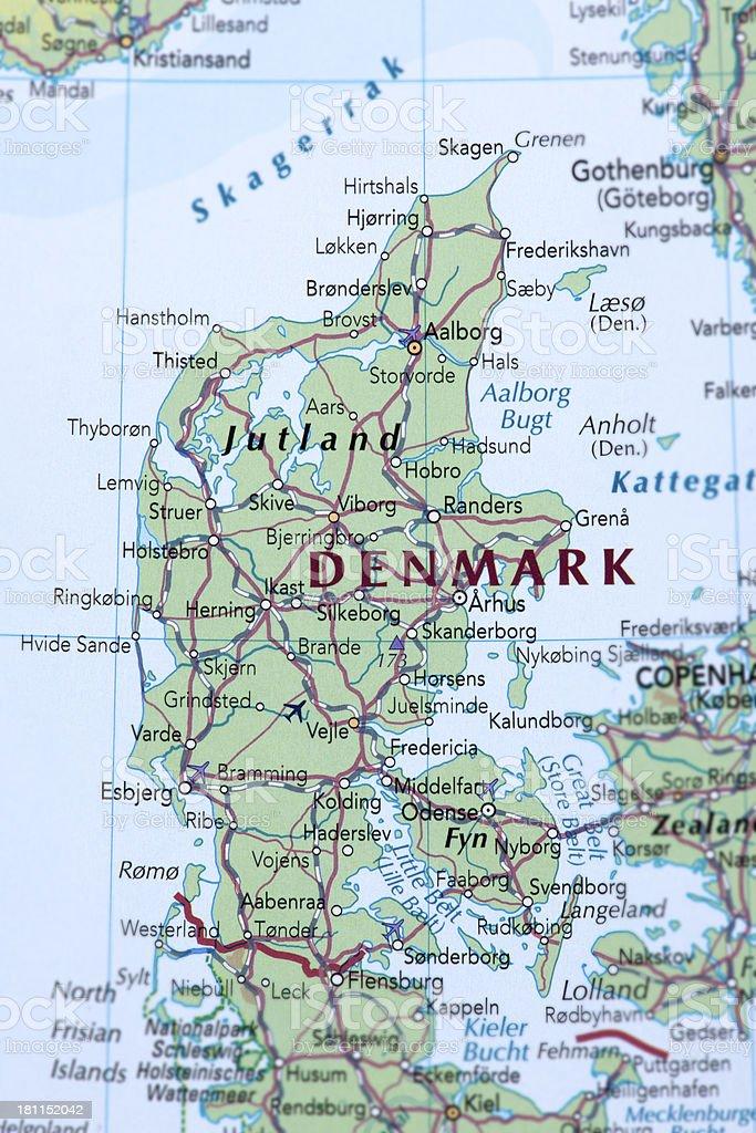 DENMARK royalty-free stock photo