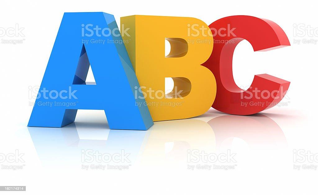 ABC - foto de acervo