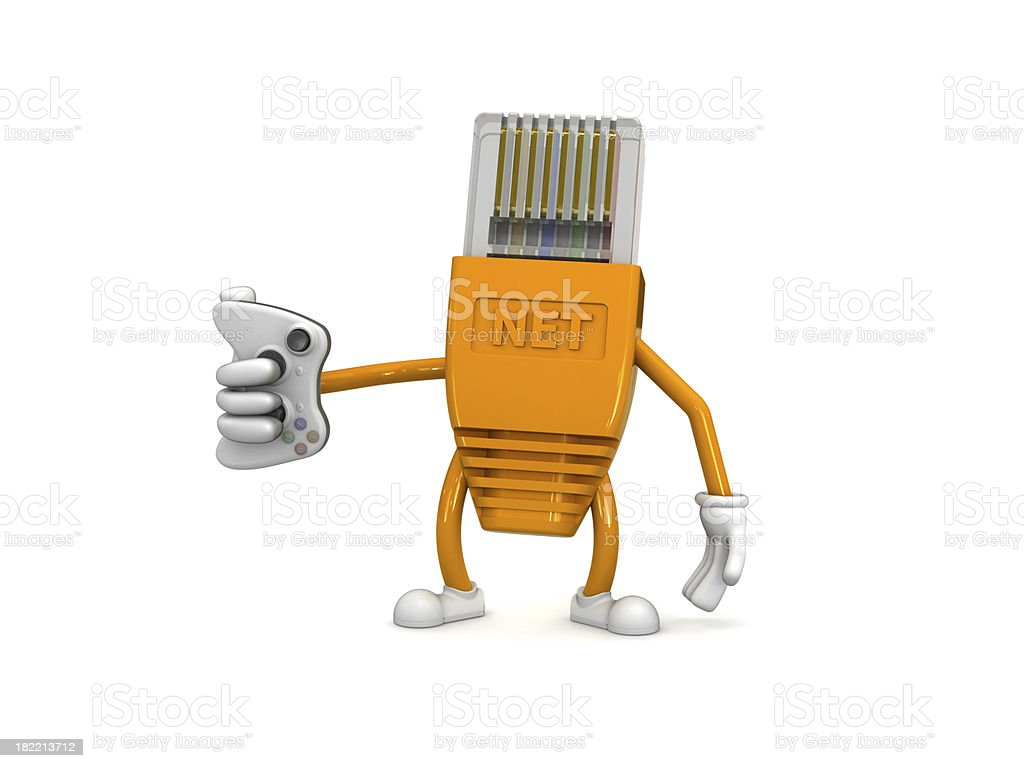 RJ45 royalty-free stock photo