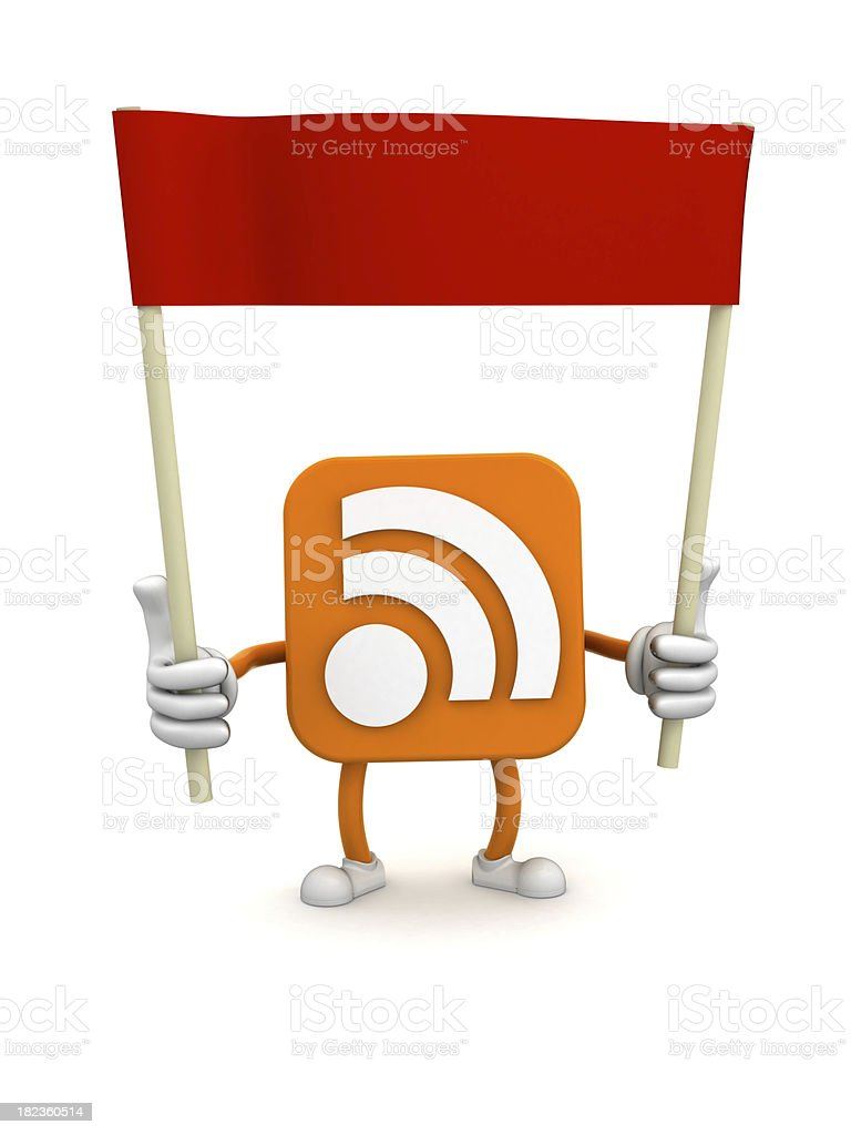 RSS royalty-free stock photo