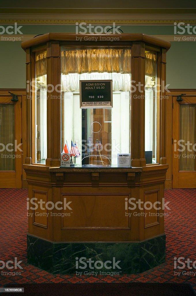BOX OFFICE royalty-free stock photo