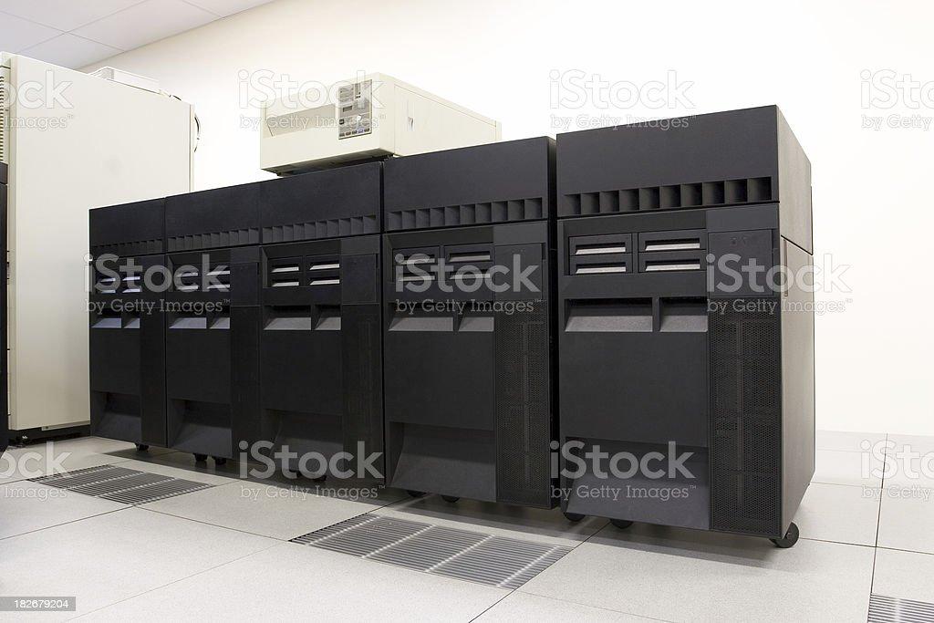 IBM AS400 stock photo
