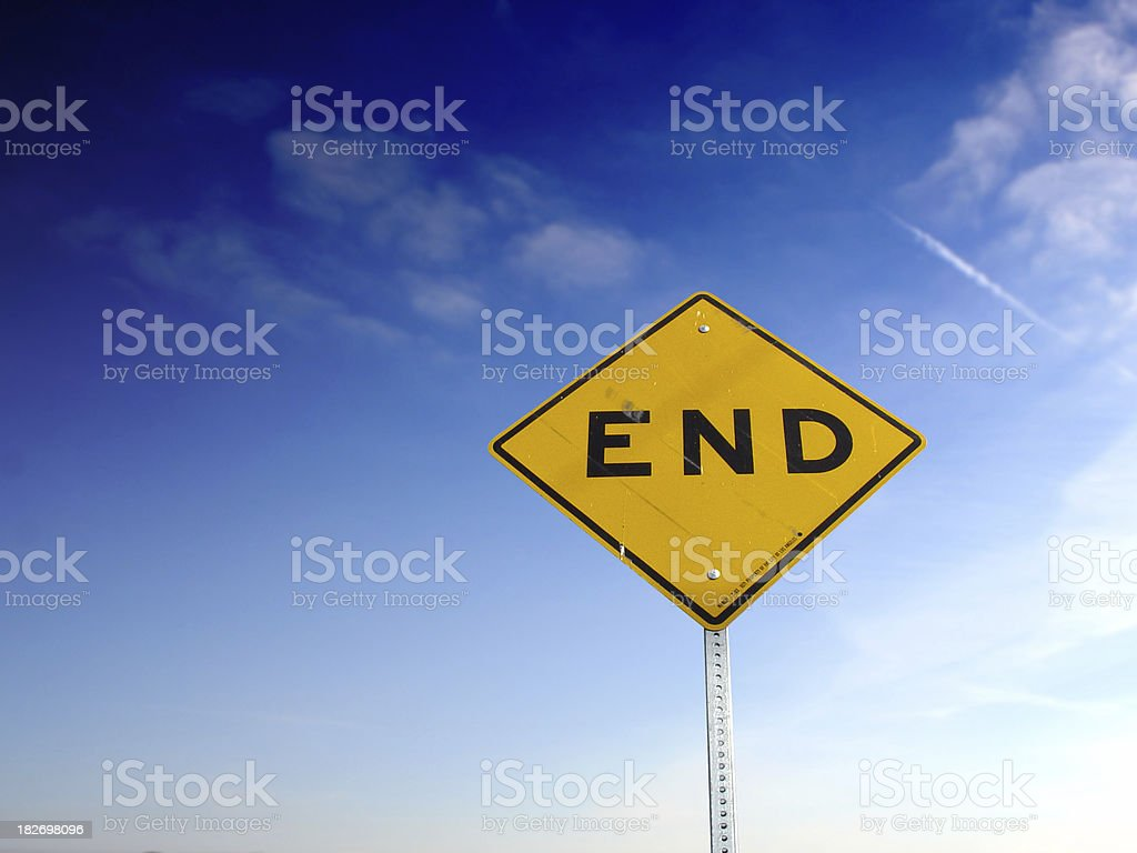 END royalty-free stock photo