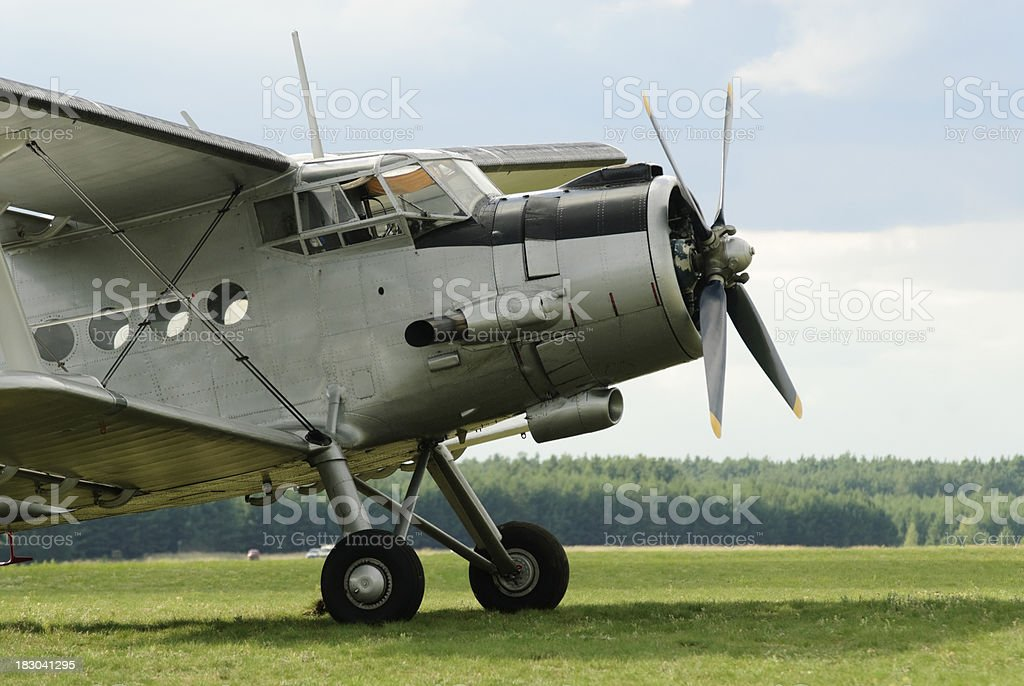 AN-2 royalty-free stock photo