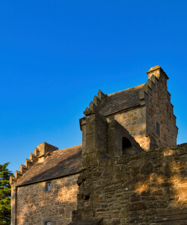 This is the old house of the Bishop at Elgin, Moray, Scotland.
