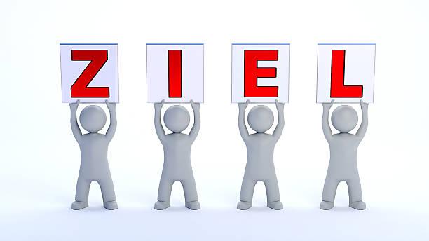 ZIEL Figure Ziel ziel stock pictures, royalty-free photos & images