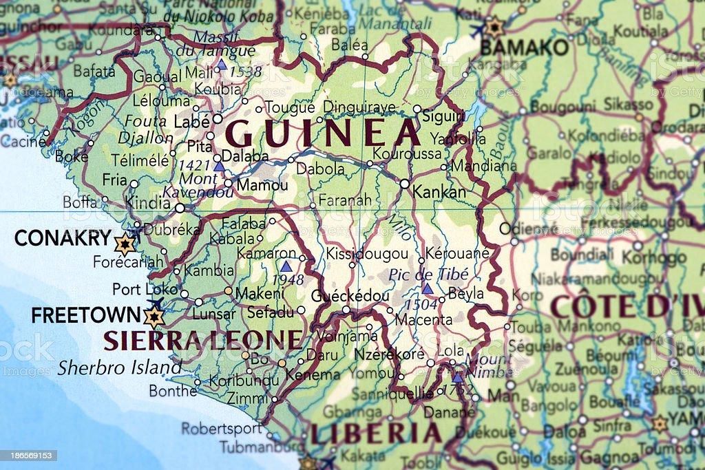 GUINEA royalty-free stock photo