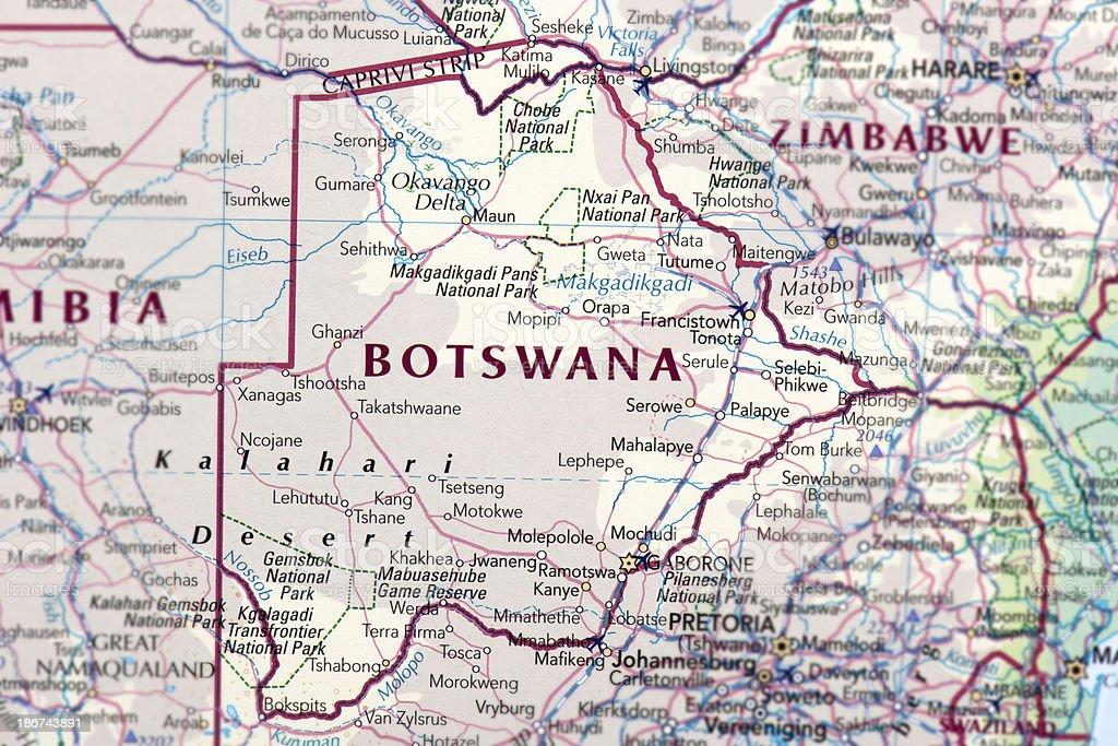 BOTSWANA royalty-free stock photo